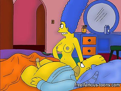Simpsons hardcore orgy -..