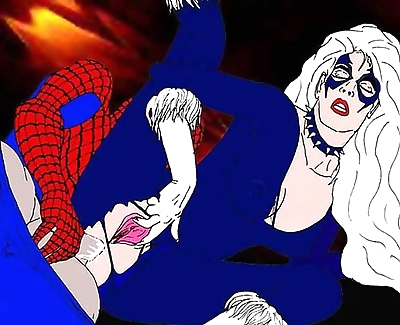 Spiderman porn cartoons -..