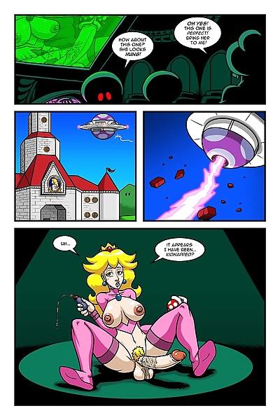 Peach vs The Shroobs