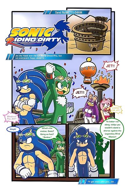 Sonic Riding Dirty