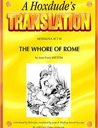 Messalina #3 - The Whore Of Rome
