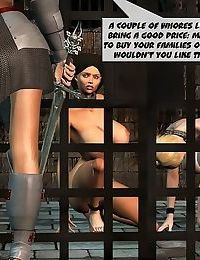 Bdsm lesbian orgy in dungeon - part 13