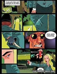 Spiderman sex adventures famous comics - part 7