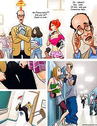 Adult comic professor pinkus fantasizing about redhead student - part 2191