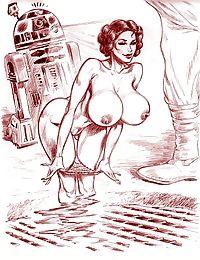 Star wars porn cartoons - part 1797