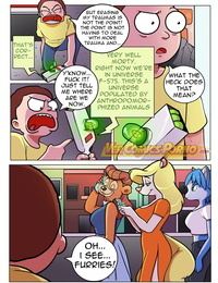 Rick & Morty: Pleasure Trip 3 - - -